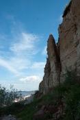 Ласточкины гнезда на берегу Ильменя